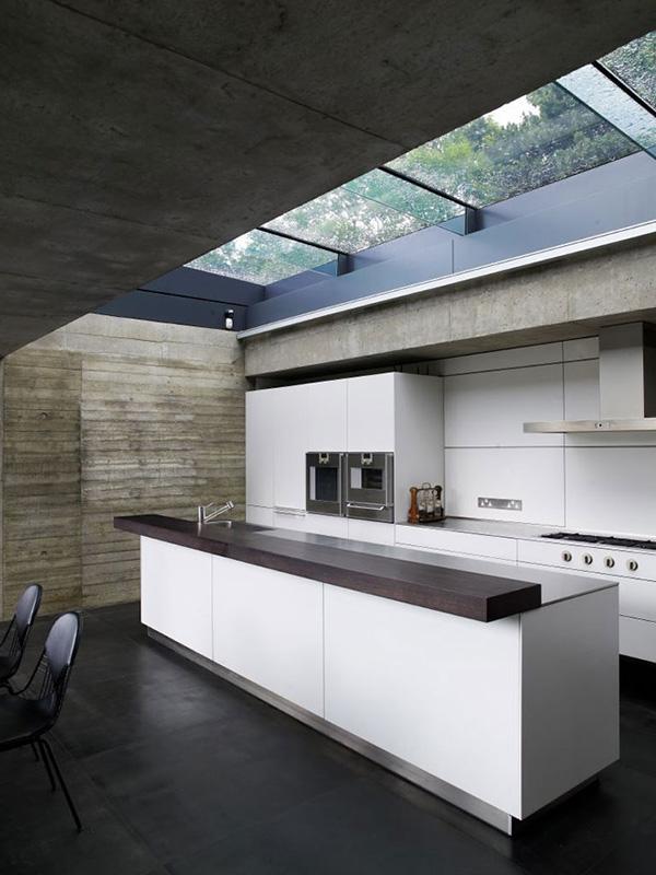 contoh skylight di atap ruang dapur/pantry (google)