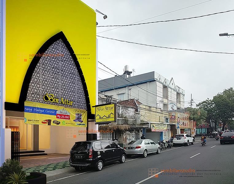 alternatif desain Bin Attar Sidoarjo