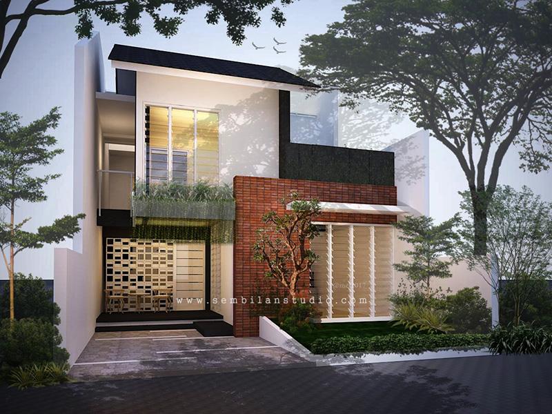 Gambar Desain Rumah Minimalis 7 X 15  ars desain rumah tinggal berlantai mezanine di lahan 7a 15