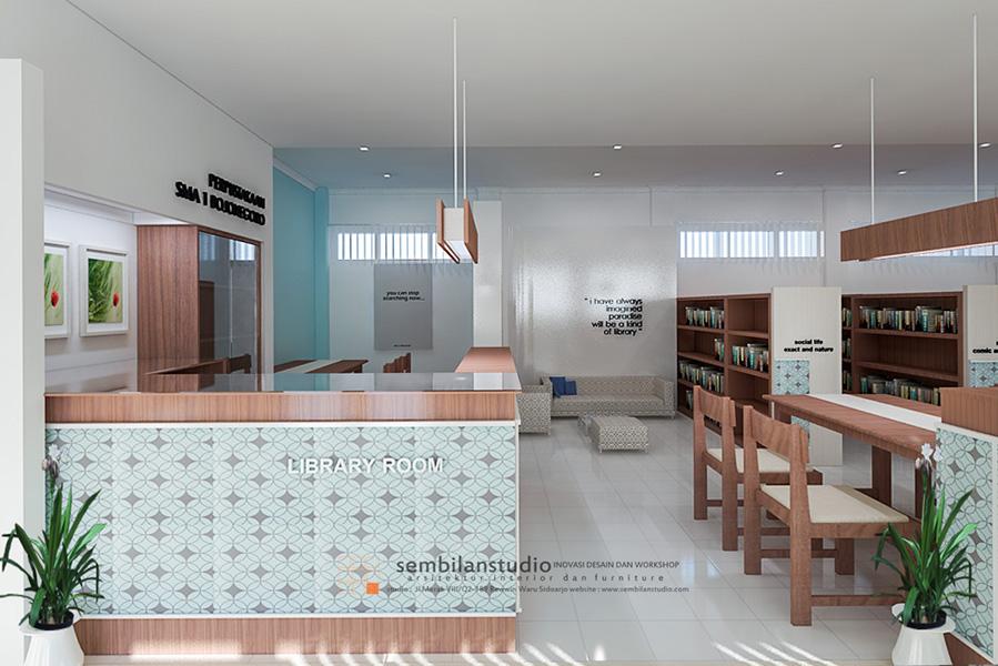 Int Re Desain Ruang Interior Perpustakaan Agar Menarik Kembali
