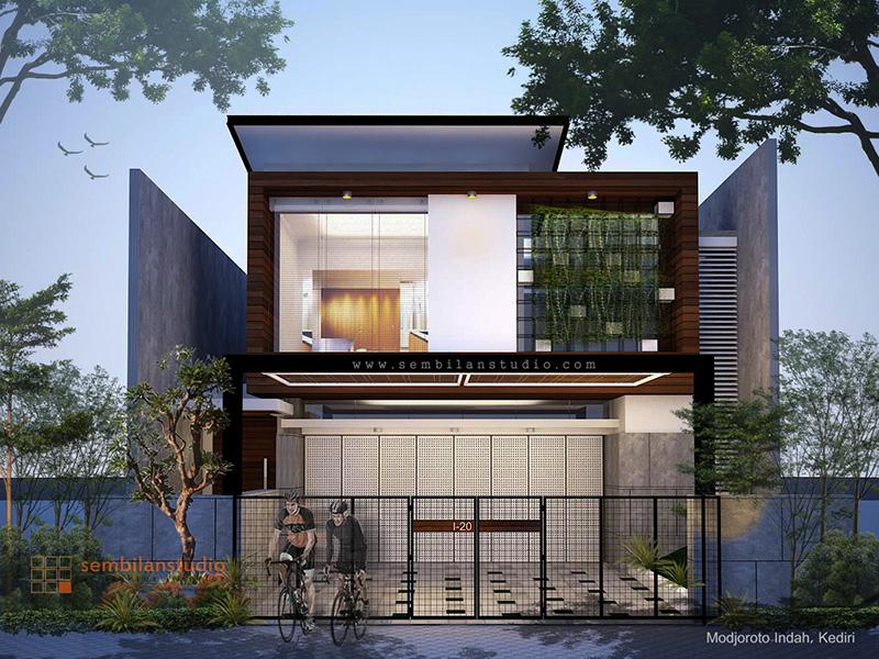 Desain Rumah Minimalis Dapur Di Depan  fotografer arsitektur dan interior sembilanstudio